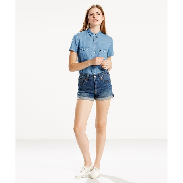Tailored Short Sleeve Western